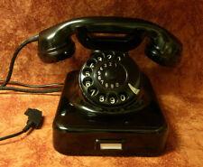 W48  Telefon Bakelit W 48 SIEMENS Telephone  Fernsprecher Top! WIE NEU!