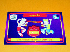 38 MASCOTTES ESPAÑA ESPAGNE FOOTBALL PANINI UEFA EURO 2012