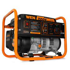 Camping Portable Generator Gas-Powered Compact Lightweight 4-Stroke 1550 Watts