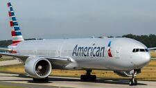 Huge Boeing 777 American Airlines  desktop model approx 47 cms long