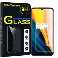 Vitre De Protection Transparent Écran Film Verre Trempe Model OnePlus