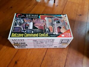 1993 Kenner Batman The Animated Series Batcave Command Center Playset