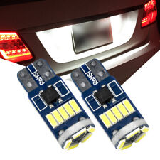 Car Side Light Bulbs Number Plate Interior Xenon Hid Bulb White W5w T10 501 Led