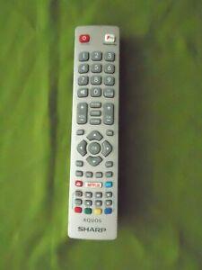 Sharp NETFLIX TV/TEXT/DVD/FAV REMOTE CONTROL MODEL:DH1803304513  EX/CON