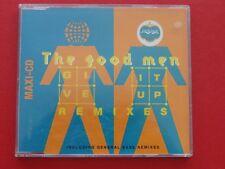 THE GOOD MEN - GIVE IT UP - REMIXES, Maxi EP Musik CD Rock Pop ~003
