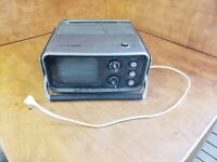 Vintage Sears Solid State TV Radio 3 Way Power model no.564.50370800