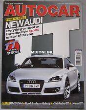Autocar magazine 12/4/2006 featuring Audi, Alfa Romeo, BMW Z4M, Volvo, VW, Ford
