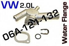 VW JETTA, GOLF ALUMINUM Water Coolant Flange 06A-121-132 with the 2.0L Engine