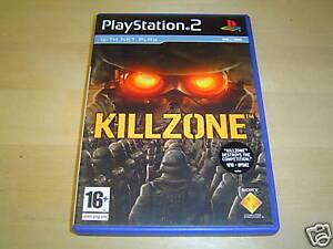 KILLZONE SONY PLAYSTATION 2 PAL *BRAND NEW*