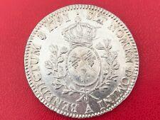 Louis XVI Ecu au buste habillé 1791 A Paris TB Louis XVI 1774-1793