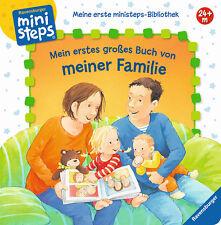 Mein erstes großes Buch von meiner Familie Ministeps Ab 2 Jahren + BONUS