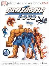 Fantastic Four Ultimate Sticker Books