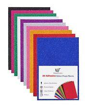 A4 Assorted Glitter Foam Sheets EVA Foam Adhesive Sticky Back Foam Sheet 1.8mm