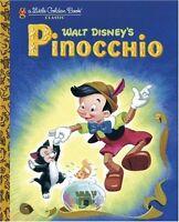 Pinocchio (Little Golden Book) by Steffi Fletcher