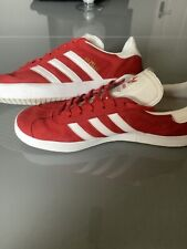 adidas originals gazelle trainers Size Uk 11 Red