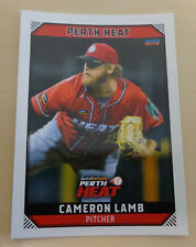Cameron Lamb 2018/19 Australian Baseball League card - Perth Heat