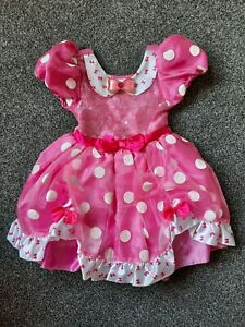 Girls cute Disney Minnie Mouse Costume Dress, Age 3 Years. Excellent condition.