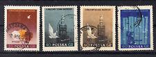 Polonia sellos 1955 mundo firmemente juegos mi.nr.922+23+25+26