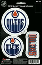 Edmonton Oilers Team ProMark Die-Cut Decal Stickers 3Pack