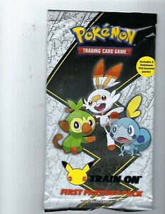 Pokemon TCG 25th Anniversary GALAR First Partner Pack