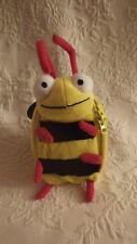 "Bee Child Coin Purse Soft Plush Stuffed Animal Toy 8"" Tall"