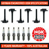 6x Genuine NGK Iridium Spark Plugs & 6x Ignition Coils for Jeep Cherokee KL