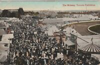 Vintage Postcard Toronto Exhibition The Midway 1912 *Free Shipping*