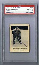 1952-53 Laval Dairy Hockey Card Shawinigan falls #90 Bernie Lemonde Graded PSA 4