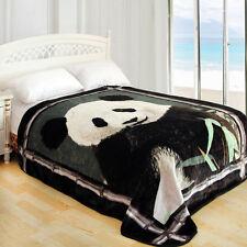 "ShiGo Heavy Weight Super Soft Luxury Twin size Blanket 60""X80""-Panda"