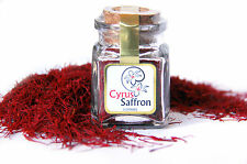 Cyrus Saffron, 100% PURE NATURAL RED Persian Saffron 1 Gram glass jar