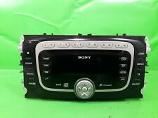 FORD MONDEO MK4 RADIO CD PLAYER HEAD UNIT SONY WITH CODE 7S7T18C939BE 2007-2014