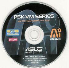 ASUS P5K-VM Motherboard Drivers Installation Disk M1204