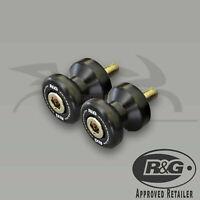 Suzuki GSXR1000R 2018 R&G Racing Black M8 Cotton Reels Paddock Stand Bobbins