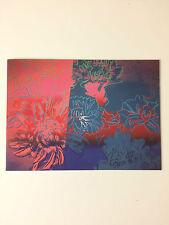 Andy Warhol, carta promozionale, LONDRA ORIGINALE STAMPA Fiera, 2012