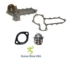 New Kumar Bros Usa Water Pump With Thermostat For Bobcat Compact Excavator 334