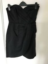 Strapless Black Dress From H&M Size 10