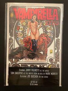 Vampirella Zero High Grade Harris Comic Book D19-27