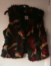 TU At Sainsburys Faux Fur Ladies Gillet - UK Size 16