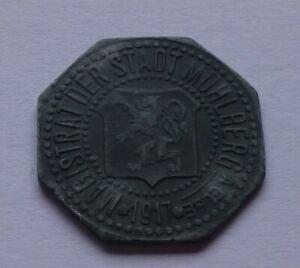Notgeld: Germany, Mühlberg a. Elbe 5 Pfennig 1917, War money, Emergency coin