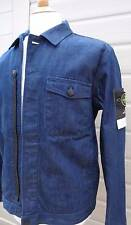 STONE ISLAND SUPER ITALIAN SELVEDGE DENIM JACKET SIZE MEDIUM NEW WITH TAGS