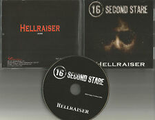 16 SECOND STARE Hellraiser PROMO DJ CD single w/ ACE FREHLEY TOUR Mention KISS