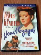 NOW VOYAGER - All  Region Compatible Bette Davis, Claude Rains NEW DVD