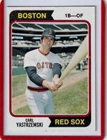 CARL YASTRZEMSKI Boston Red Sox - 1974 Topps #280