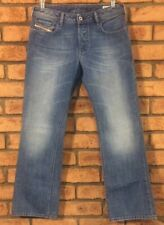DIESEL ZATINY BOOTCUT 008AT DESIGNER MEN'S BLUE DENIM JEANS SIZE 31 X 30
