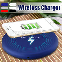 Ultrathin Qi Wireless Fast Charger Dock Charging Mat Pad For iPhone XS/XS
