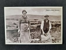 More details for early shetland postcard bagging peats