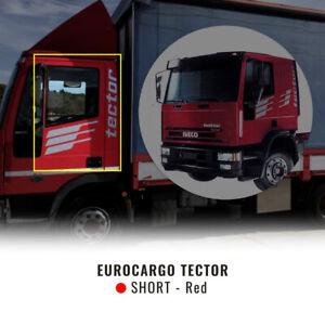 Decor Kit Decorazione Adesiva Eurocargo Tector Cabina Corta, Rosso