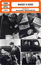 FICHE CINEMA : WHISKY A GOGO - Radford,Lacey,Mackendrick 1948 Whisky Galore !