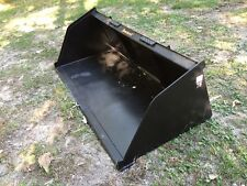 "New 84"" Skid Steer/Tractor Snow/Mulch 7' Bucket - for Bobcat, Case, Cat & more"