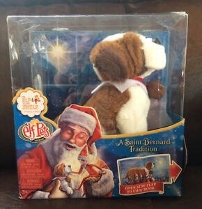 🎄Elf Pets St. Bernard Elf On The Shelf A Christmas Tradition Book + Dog